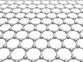 foto of graphene  - Graphene layer structure schematic model - JPG