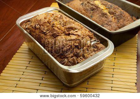 Two Loafs Of Sweet Bread