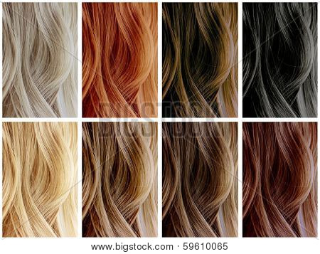Hair Color Samples