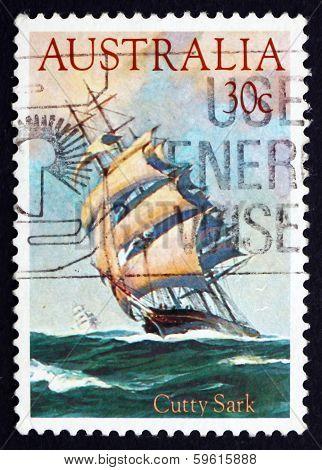 Postage Stamp Australia 1984 Cutty Sark, Clipper Ship