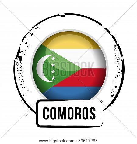 Stamp Comores