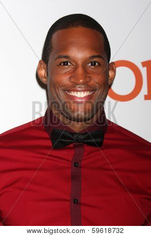 LOS ANGELES  - FEB 8:  Lawrence Saint-Victor at the 2014 NAACP Image Awards Nominees Luncheon at Loews Hollywood Hotel on February 8, 2014 in Los Angeles, CA