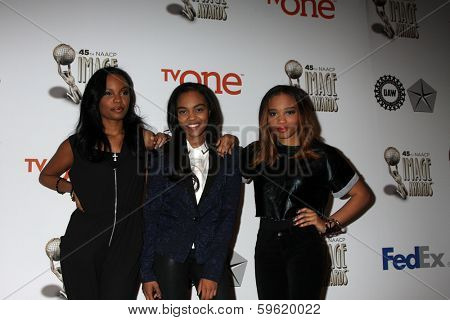 LOS ANGELES - FEB 8:  China Anne McClain, McClain Sisters at the 2014 NAACP Image Awards Nominees Luncheon at Loews Hollywood Hotel on February 8, 2014 in Los Angeles, CA