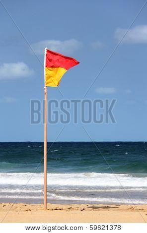Australian Life Saving Flag 2