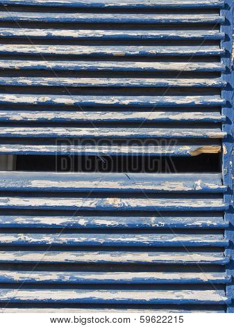 wooden louver on building, wall of wooden planks