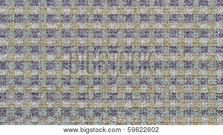 Blurred Blue And Orange Block Pattern
