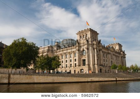 The Reichstag Parliament Building, Berlin, Germany