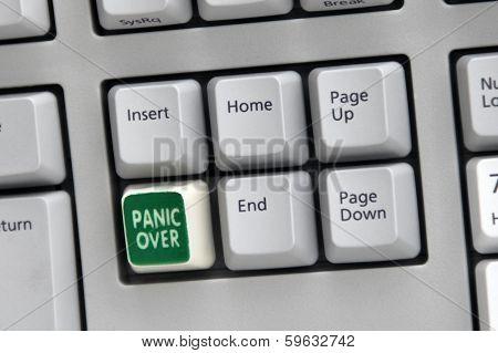 Panic Over Button