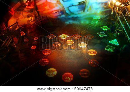 Pinball background