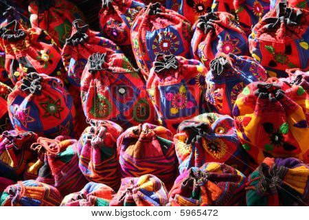 Colorful Ethnic Bags