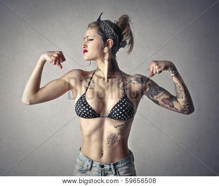 virile girl