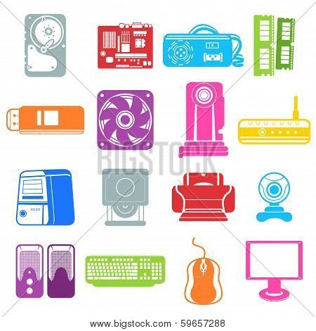 Computer Component Icons
