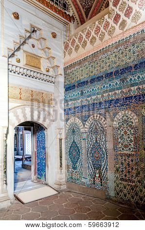 Colorful Tiles Of Harem