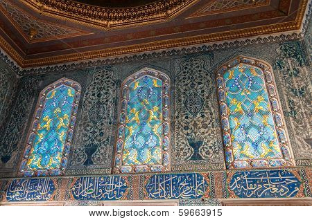 Stained-glass Windows In Harem