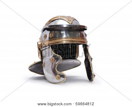 Ancient Roman Helmet