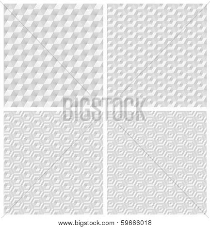Seamless White Patterns