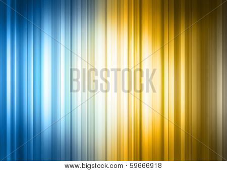 Yellow Blue Spectrum