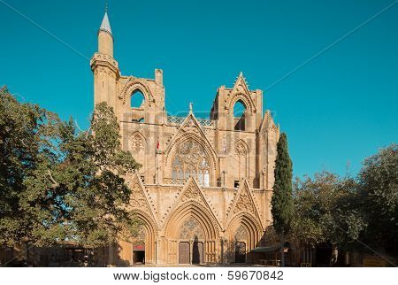 St. Nicholas Cathedral (Lala Mustafa Mosque), Famagusta, Northern Cyprus