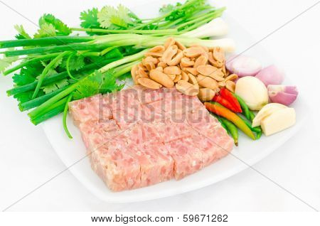 Fermented Ground Pork (nham)
