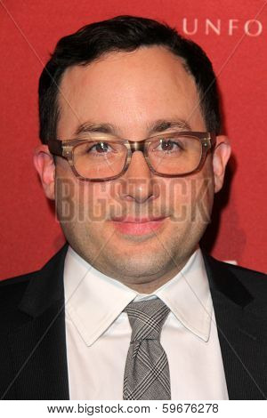LOS ANGELES - FEB 10:  P.J. Byrne at the The Hollywood Reporter's Annual Nominees Night Party at Spago on February 10, 2014 in Beverly Hills, CA