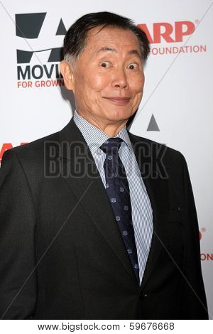 LOS ANGELES - FEB 10:  George Takei at the AARP