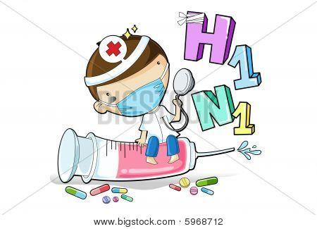 Swine Flu Vacccine