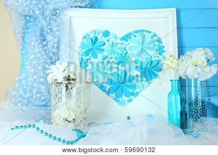Beautiful home decor with handmade picture