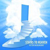 image of stairway to heaven  - steps - JPG
