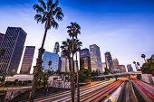 stock photo of cbd  - Los Angeles - JPG