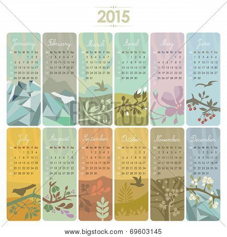 2015 Calendar Set