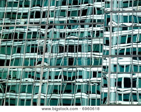 Abstract Green Glass