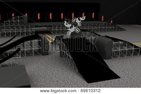 Place for motofreestyle