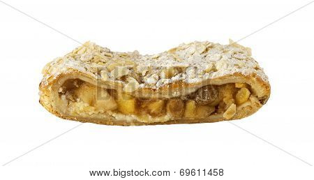 Freshly baked Applestrudel