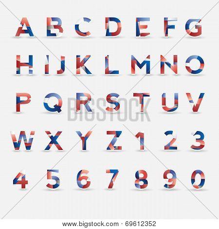 Flag Vector Font