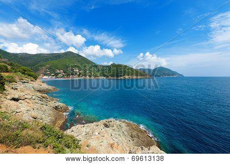Sea In Bonassola - Liguria - Italy