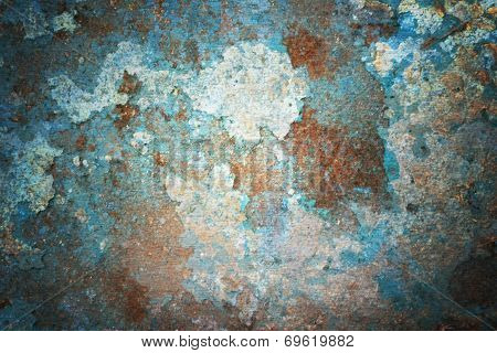 Abstract Rust Metal Background