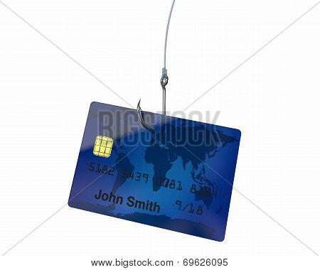 Credit Card On Hook
