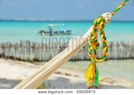 Hammock With Color Rope