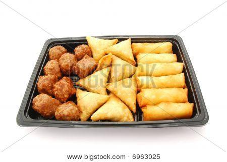 Savory pastry snacks