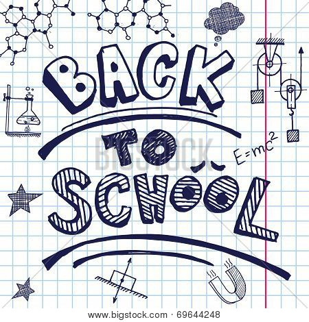 Vector back to school