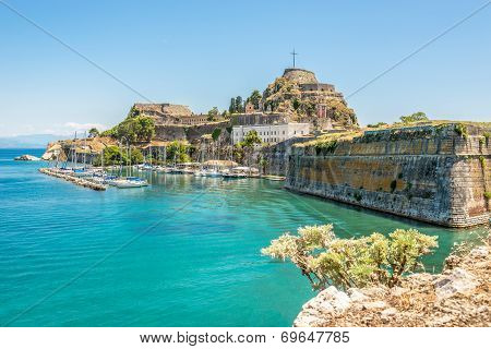 The Old Fortress Of Corfu
