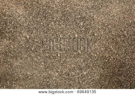 Roughened Texture Of Granite Wall