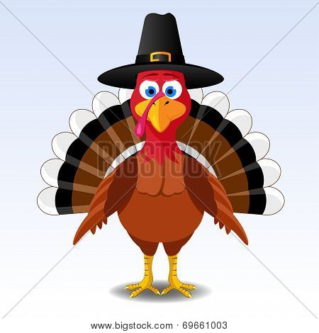Thanksgiving turkey poster