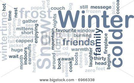 Winter Wordcloud