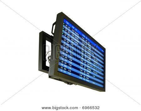 Airport Delay Sign, Flight Schedule, Airline, Europe