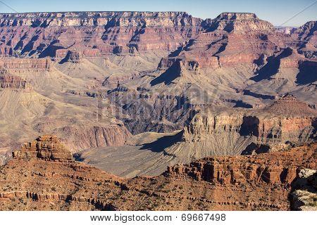 Grand Canyon - South rim landscape