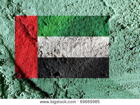 an images of illustration   the United Arab Emirates flag UAE