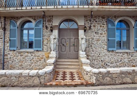 Antibes - Architecture Of Old Town