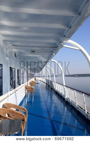 Cabins Of A Ship