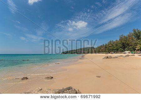 Paradisiac Freedom beach Koh Phuket in Thailand